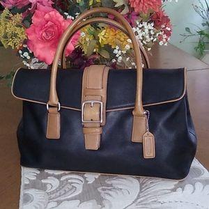 Authentic vintage Coach satchel